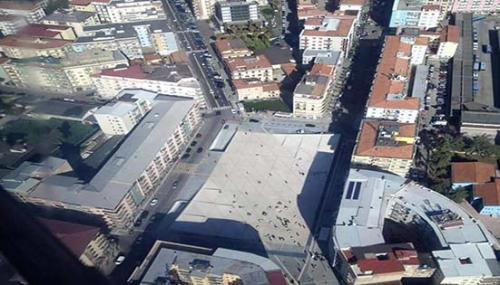 foto dall'alto Piazza Bilotti1